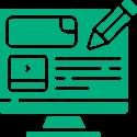 Красивые, функциональные сайты для фирмы, агенства, компании.