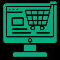 Сайт для продаж товара через интернет.